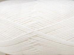 "Laine à tricoter ""Rico Baby So Soft DK"" - blanc 01"