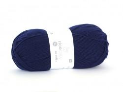 "Laine à tricoter ""Rico Baby So Soft DK"" - bleu marine 09"