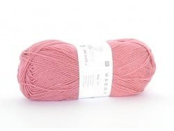 "Knitting wool - ""Rico Baby So Soft DK"" - berry (colour no. 18)"