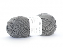 "Laine à tricoter ""Rico Baby So Soft DK"" - anthracite 22"