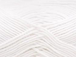 """Laine à tricoter """"Rico Baby Cotton Soft DK"""" - blanc 18"""