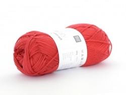 """Laine à tricoter """"Rico Baby Cotton Soft DK"""" - rouge 35"""
