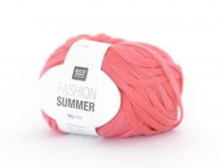 """Strickgarn - """"Fashion Summer"""" - melonenfarben (Farbnr. 03)"""