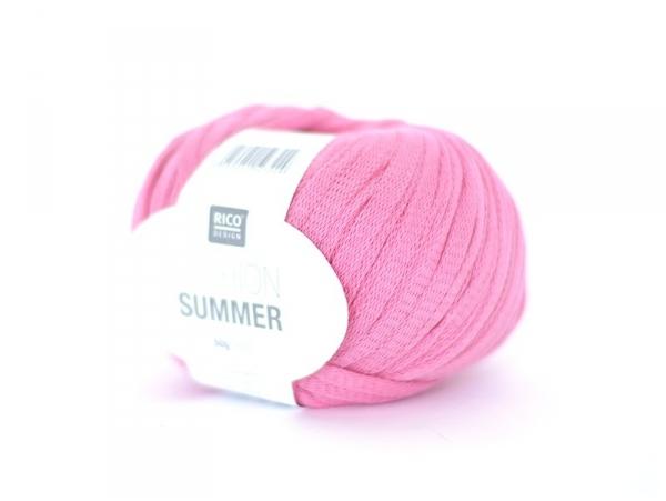 "Fil à tricoter ""Fashion Summer"" - Rose 07"