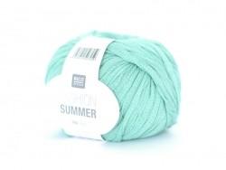 """Knitting yarn - """"Fashion Summer"""" - emerald (colour no. 010)"""