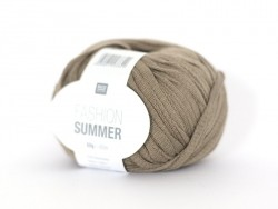 "Fil à tricoter ""Fashion Summer"" - Mastic 12"