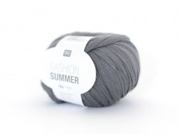 "Fil à tricoter ""Fashion Summer"" - gris 16"