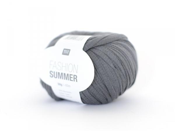 """Fil à tricoter """"Fashion Summer"""" - gris 16"""