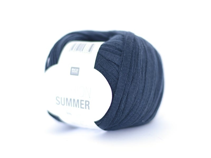 "Fil à tricoter ""Fashion Summer"" - anthracite 15"