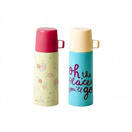 Small thermos flask - turquoise