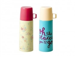 Small thermos flask - yellow