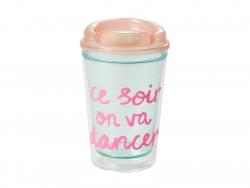 Thermos plastique - Ce soir on va danser !