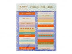 4 sticker sheets - banners