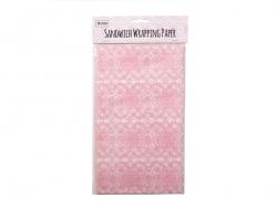 50 feuilles de papier sulfurisé imprimé - dentelle