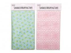 50 feuilles de papier sulfurisé imprimé - citron