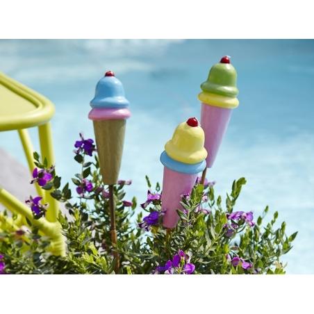 Bougie glace - Rose / vert