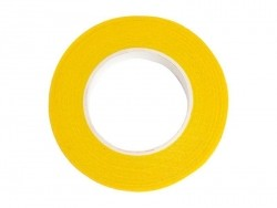 Rolle Krepppapier - gelb