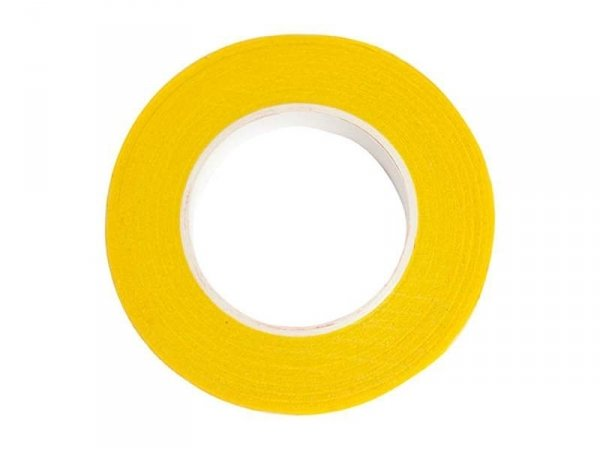 Crepe paper roll - yellow