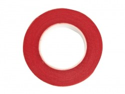 Crepe paper roll - red