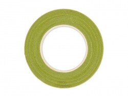 Crepe paper roll - light green