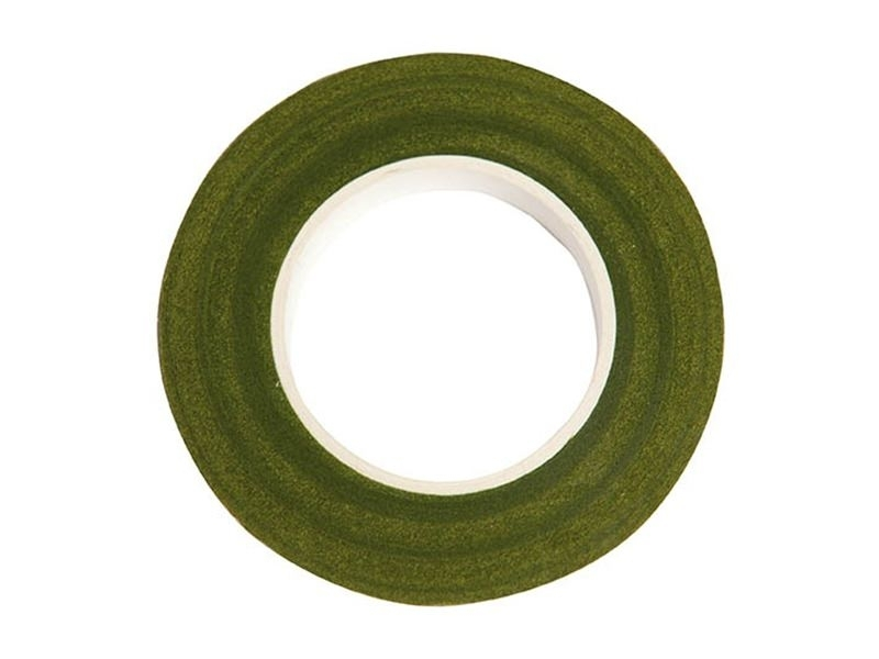 Crepe paper roll - green