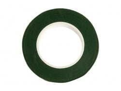 Crepe paper roll - dark green