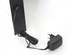 Adapteur noir pour lightbox - prise secteur - EU