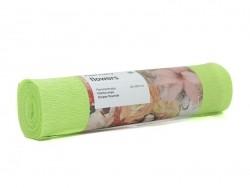 Florist crepe paper (25 cm x 250 cm) - pistachio green (colour no. 71)