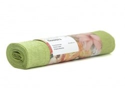 Florist crepe paper (25 cm x 250 cm) - reed green (colour no. 72)