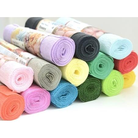 Acheter Papier crépon fleuriste 25 x 250 - vert 73 - 3,50€ en ligne sur La Petite Epicerie - Loisirs créatifs