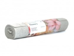 Florist crepe paper (25 cm x 250 cm) - beige/grey (colour no. 74)