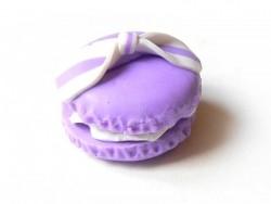 Acheter Cabochon macaron et son noeud - Mauve - 1,59€ en ligne sur La Petite Epicerie - 100% Loisirs créatifs