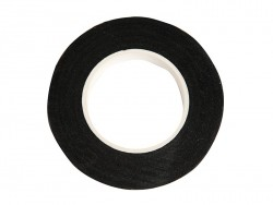 Crepe paper roll - black