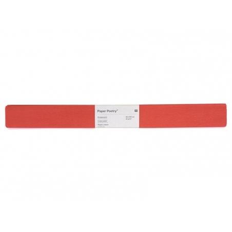 Papier crépon - rouge