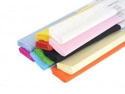 Bobine de bande de papier crépon - blanc