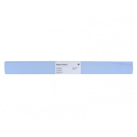 Papier crépon - bleu clair