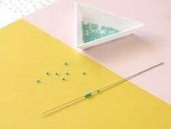 Acheter Aiguille à perler - 12 cm - 0,99€ en ligne sur La Petite Epicerie - 100% Loisirs créatifs