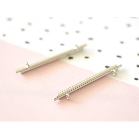 Acheter Embout pour tissage de perles argenté - 35 mm - 1,99€ en ligne sur La Petite Epicerie - 100% Loisirs créatifs