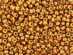 Acheter Rocailles Miyuki 11/0 - Duracoat galvanized yellow gold 11-4203 - 2,80€ en ligne sur La Petite Epicerie - Loisirs cr...