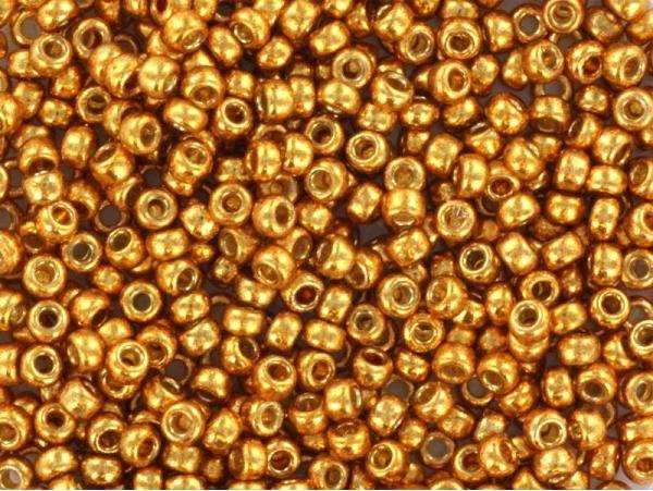 Rocailles Miyuki 11/0 - doré jaune 4203