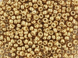 Miyuki seed beads/rocaille beads 11/0 - Champagne gold (colour no. 4204)