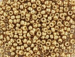 Rocailles Delicas 11/0 - doré champagne