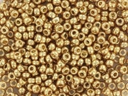 Rocailles Miyuki 11/0 - doré champagne 4204  - 1