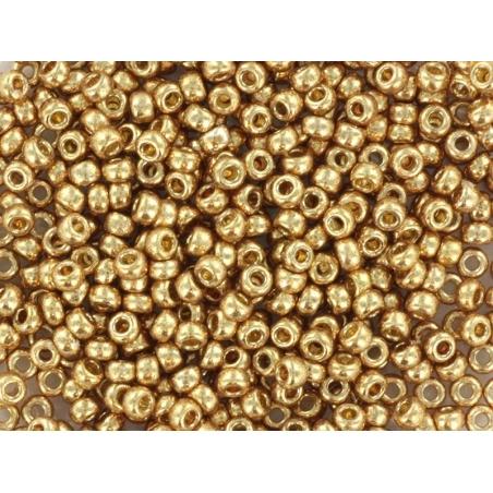 Rocailles Miyuki 11/0 - doré champagne 4204