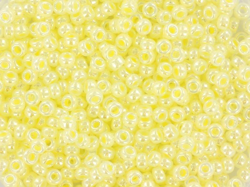 Acheter Rocailles Miyuki 11/0 - Jaune glacé 514 - 1,19€ en ligne sur La Petite Epicerie - 100% Loisirs créatifs