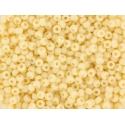Rocailles Miyuki 11/0 - Crème opaque 492