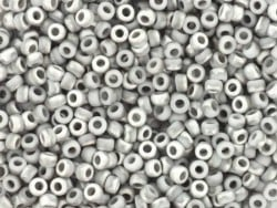 Rocailles Miyuki 11/0 - gris bicolore mat 4558