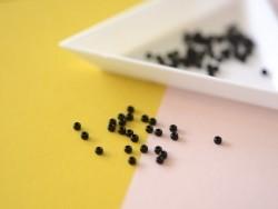 Rocailles Miyuki 11/0 - Noir opaque 401