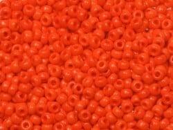 Rocailles Miyuki 11/0 - Rouge opaque 407