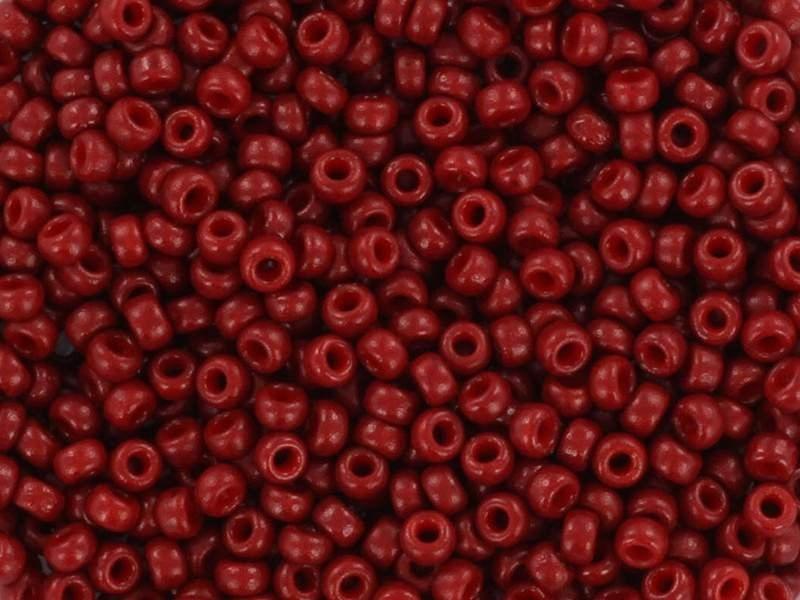 Rocailles Miyuki 11/0 - bordeaux opaque 4469  - 1